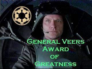 General Veers Award of Greatness